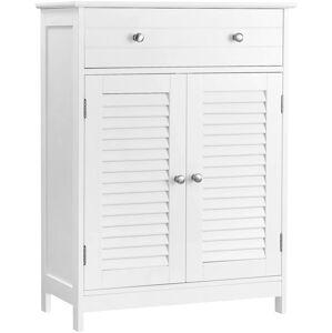 Koupelnová skříňka VASAGLE Linda bílá