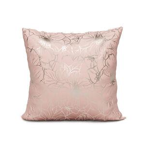 Povlak na polštář Sora 002 - 40x40 cm růžový