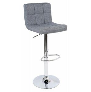 Barová stolička ARAKO sivá