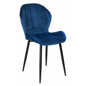 Čalouněná židle SHELBY námořnická modř