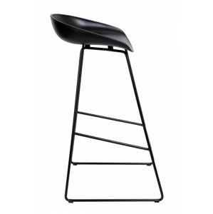 Barová židle Hoker VISKAN černá